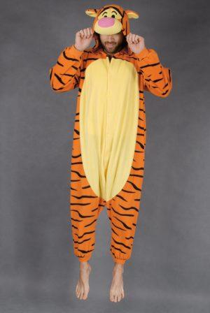 Teigetje 2.0 onesie tijgertje pak kostuum