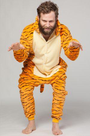 Teigetje onesie tijgertje pak kostuum