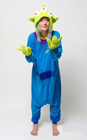 Toy Story Alien onesie