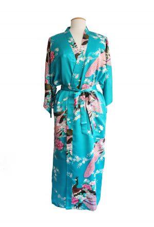 Turquoise Japanse Kimono Yukata