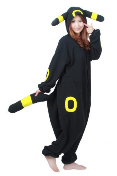 Umbreon Pokemon onesie