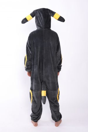 Umbreon Pokemon onesie kostuum pak