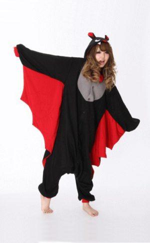 Vleermuis Vampier onesie