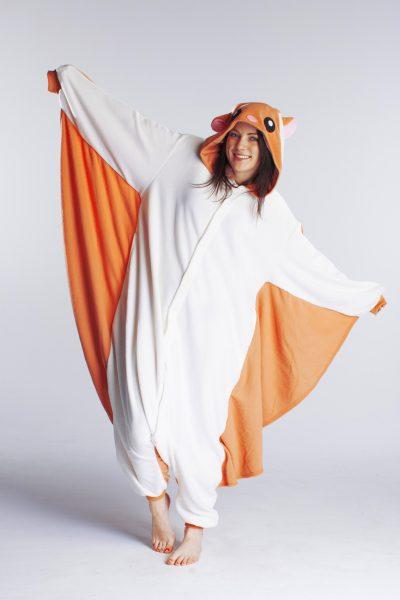 Vliegende Eekhoorn onesie