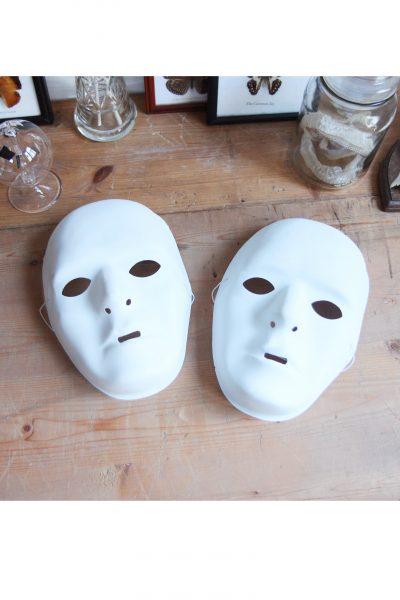 Wit masker