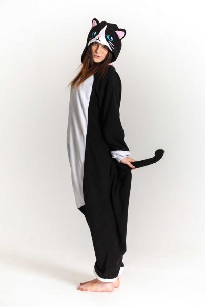 Black Cat Onesie Uk
