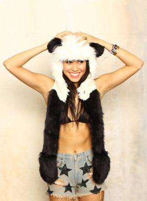 Panda hood muts