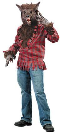 Weerwolf kostuum wolf pak